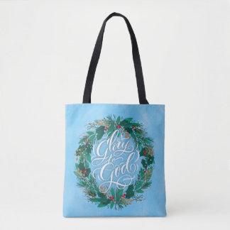 Ruhm WeihnachtsTaschen-Tasche zur Gottwreath-| Tasche