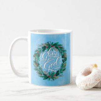 Ruhm WeihnachtsTasse zur Gottwreath-| Kaffeetasse