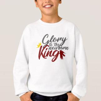 Ruhm zum neugeborenen König Hark Herald Angels Sweatshirt