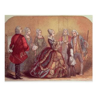 Rührender Dr. Johnson der Königin-Anne Postkarte