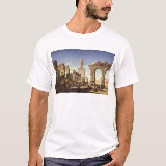 Ruinen der Moschee des Kalif-EL Haken T-Shirt