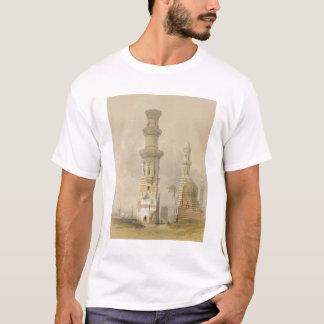 Ruinierte Moscheen in der Wüste, westlich der T-Shirt