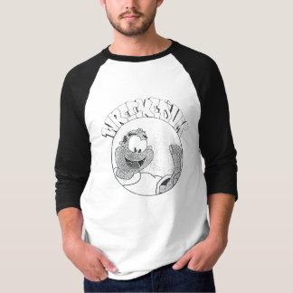 Ruiniertes 'Um Melvin Kreis-Logo-Shirt T-Shirt