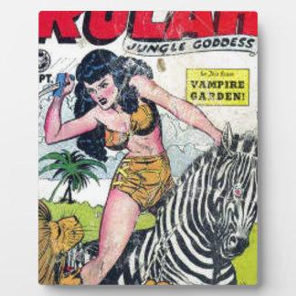 Rulah, Dschungel-Göttin Fotoplatte