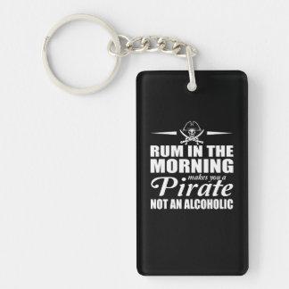 Rum am Morgen lässt Sie nicht alkoholisches kapern Schlüsselanhänger