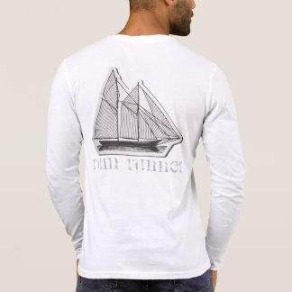 Rum-Läufer henley podpilots.com-MANNES ZU PFERD T-Shirt