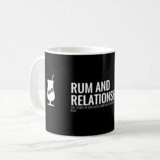 Rum u. Beziehungen - Logo-Tasse Kaffeetasse