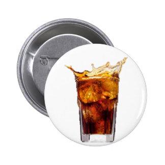 Rum-u. Kolabaum-Knopf Runder Button 5,1 Cm