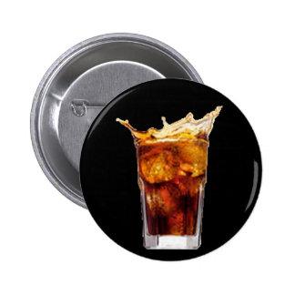 Rum-u. Kolabaum-Knopf Runder Button 5,7 Cm