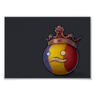 Rumänien Countryball Poster