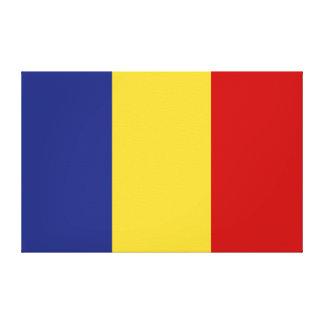 Rumänien-Flagge Leinwanddruck