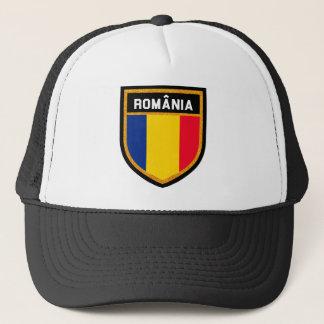 Rumänien-Flagge Truckerkappe