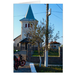Rumänien, lokale Kirche Karte