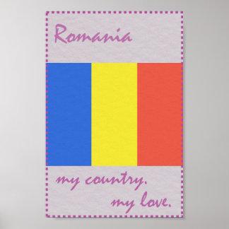 Rumänien mein Land meine Liebe Poster