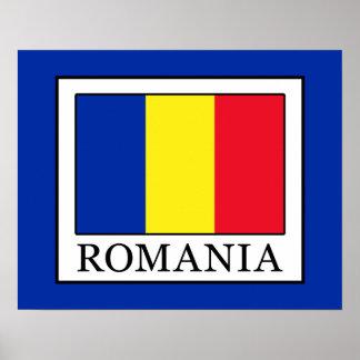 Rumänien Poster