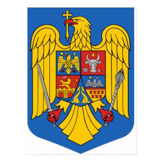 Rumänien - Wappen. Emblem Postkarte