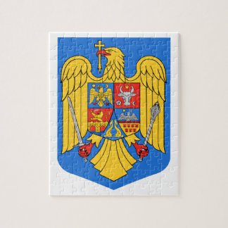 Rumänien-Wappen Puzzle