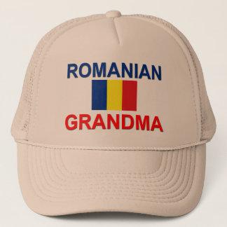 Rumänische Großmutter Truckerkappe