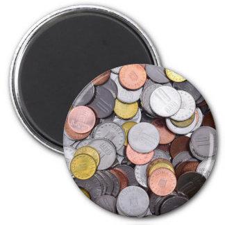 rumänische Münzen Runder Magnet 5,1 Cm