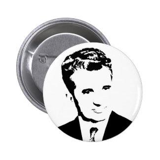 rumänischer kommunistischer Diktator nicolae Ceaus Runder Button 5,7 Cm