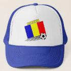 Rumänisches Fußball-Team Truckerkappe