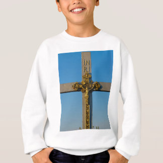 Rumänisches Kruzifix Jesus ist Lord Sweatshirt