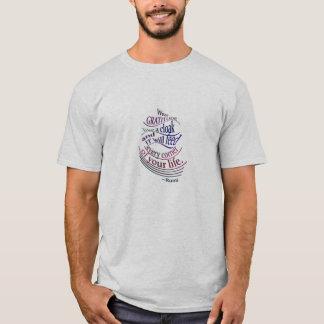 Rumi: Abnutzungs-Dankbarkeit mögen einen Mantel T-Shirt