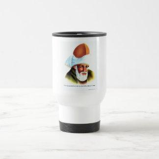 Rumi die Weise lassen Sie Liebe Reise-Tasse Reisebecher