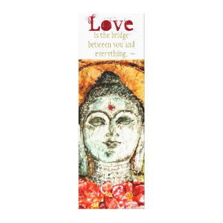 Rumi Liebe-Zitatwatercolor-Leinwand-Wand-Kunst Leinwanddruck