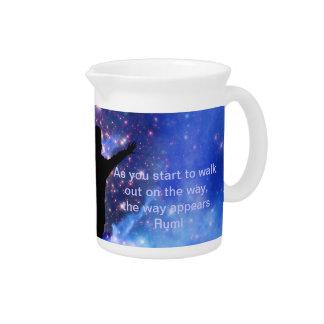 Rumi Vertrauen die Weise Getränke Pitcher