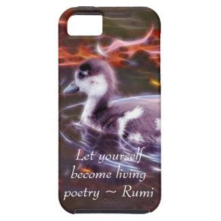 Rumi werden lebenpoesie iPhone 5 hülle