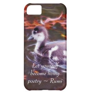 Rumi werden lebenpoesie iPhone 5C hülle