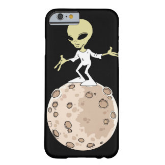 """Rumpf Iphone 6 und 6S """"Alien auf Planeten """" Barely There iPhone 6 Hülle"""