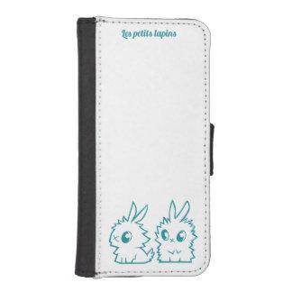 Rumpf mit Portefeuille die kleinen Kaninchen iPhone SE/5/5s Geldbeutel