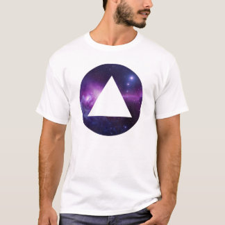 Runde Dreieck galaxy Unavoid Paris T-Shirt