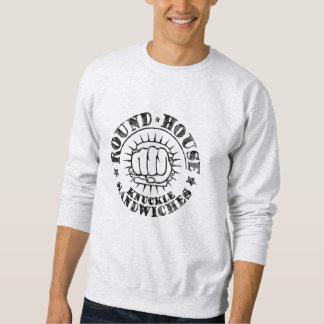 Runde Haus-Sandwiche Sweatshirt