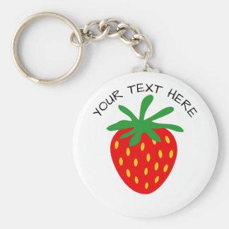 Runde keychains Knopf der kundenspezifischen roten Schlüsselanhänger