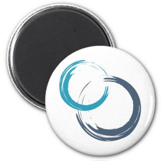 runde Magneten Scrum.org - Weiß Runder Magnet 5,1 Cm