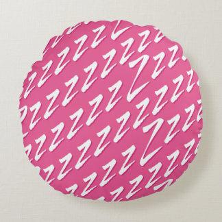 Runde rosa anziehende z rundes kissen
