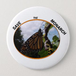 Runder Knopf 4 Zoll, Monarch-Art #2 Runder Button 10,2 Cm