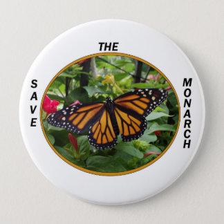 Runder Knopf 4 Zoll, Monarch-Art #5 Runder Button 10,2 Cm