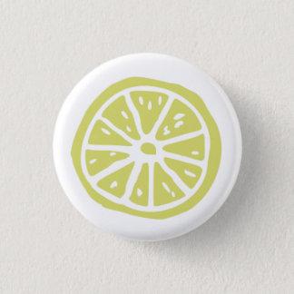 Runder Knopf des kleinen Zitrusfruchtdruckes (1 ¼ Runder Button 3,2 Cm