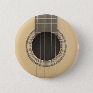 Runder Knopf-klassische Gitarre Runder Button 5,1 Cm