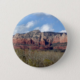 runder Knopf mit Foto von Arizona-Rot schaukelt Runder Button 5,7 Cm