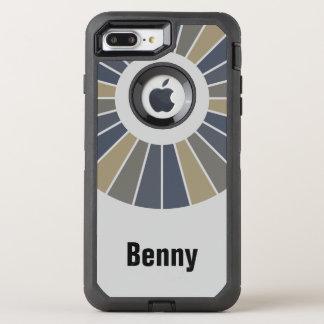 Runder Strahln-Spant 12 + Ihr backgr. u. Ideen OtterBox Defender iPhone 8 Plus/7 Plus Hülle