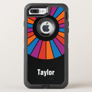 Runder Strahln-Spant 20 + Ihr backgr. u. Ideen OtterBox Defender iPhone 8 Plus/7 Plus Hülle