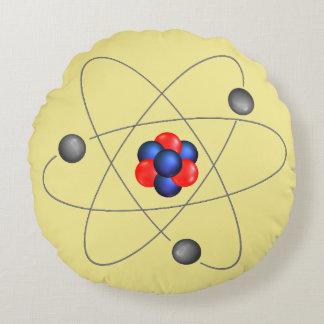Rundes atomarkissen Neutron-Protons Rundes Kissen