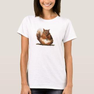 Rundes Eichhörnchen T-Shirt