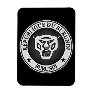Rundes Emblem Burundis Magnet