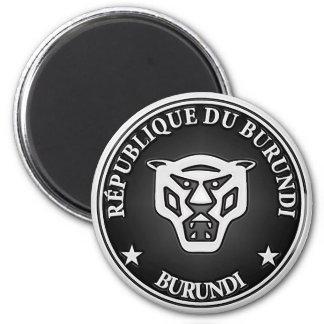 Rundes Emblem Burundis Runder Magnet 5,1 Cm